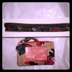 NWT - stretch headbands (2) and lighten up Id case